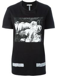футболка 'Pen Caravaggio'  Off-White
