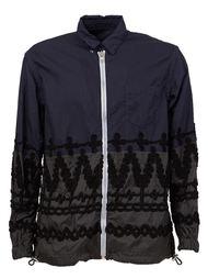 куртка с вышивкой  Sacai