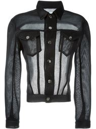 open-back mesh jacket Christopher Shannon