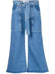 джинсы с накладными карманами Victoria Victoria Beckham