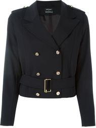 двубортный пиджак в стиле милитари Anthony Vaccarello