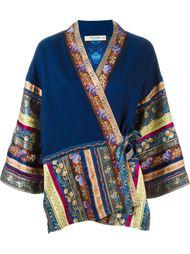 пиджак-кимоно с комбинированным узором Etro