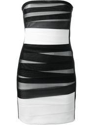 платье без лямок David Koma