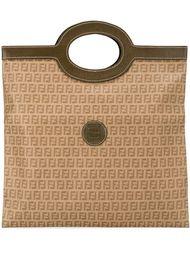 сумка-тоут с монограммным узором Fendi Vintage