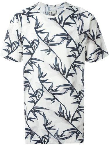 футболка с принтом бамбука Marc Jacobs