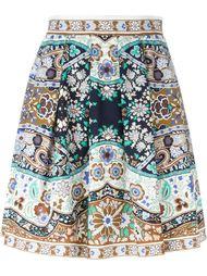 юбка с цветочным принтом   Etro