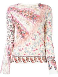 floral print sweater Etro