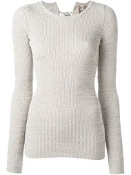 fitted knit top Nº21