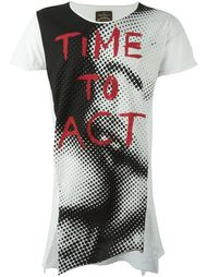 футболка 'Time to act'  Vivienne Westwood Anglomania