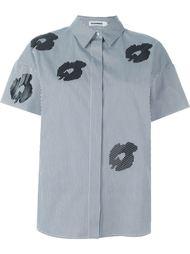 рубашка с цветочным принтом   Jil Sander
