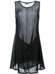 полупрозрачное платье без рукавов Ann Demeulemeester