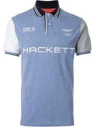 футболка-поло с логотипом  Hackett