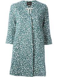 пальто с леопардовым принтом Odeeh
