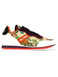 кроссовки с цветочными панелями Etro
