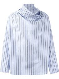 рубашка в полоску  Yohji Yamamoto