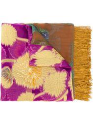 платок с цветочным принтом Etro