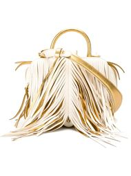 fringed tote  The Volon
