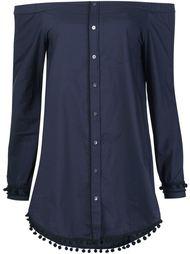 рубашка с открытыми плечами Derek Lam 10 Crosby