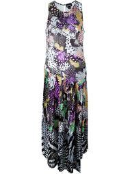плиссированное платье  Just Cavalli