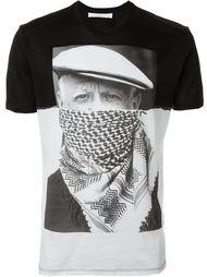 футболка с принтом портрета Neil Barrett
