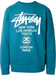 толстовка 'World Tour' Stussy