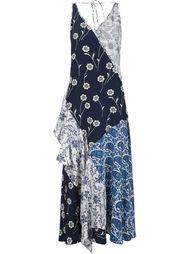 patchwork ruffle dress  Derek Lam 10 Crosby