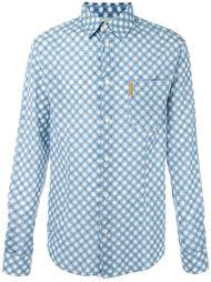 рубашка в горошек Armani Jeans