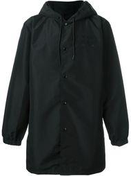 удлиненная куртка с капюшоном Stussy