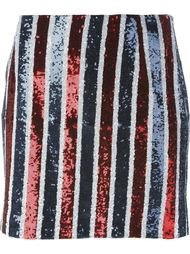 юбка с пайетками в полоску  Giamba