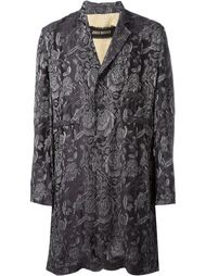 жаккардовое пальто 'Eduard'  Uma Wang