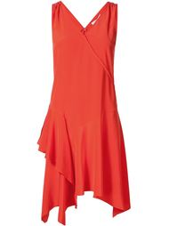ruffle detail v-neck dress Derek Lam 10 Crosby