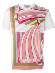 полосатая футболка Salvatore Ferragamo