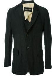 textured single-breasted jacket Uma Wang