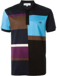 футболка-поло колор-блок  Salvatore Ferragamo