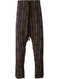 брюки с заниженной шаговой линией  Uma Wang