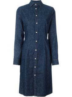 джинсовое платье-рубашка  Polo Ralph Lauren