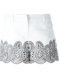 embroidered shorts Michael Michael Kors
