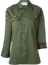 embellished military jacket Night Market