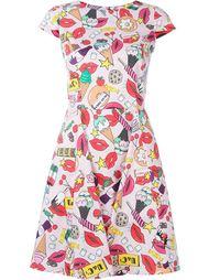 платье c принтом   Ultràchic