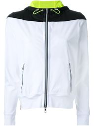 hooded zip-up jacket Monreal London