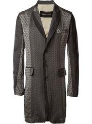 пальто с узором Uma Wang
