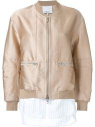 стилизованная куртка-бомбер 3.1 Phillip Lim