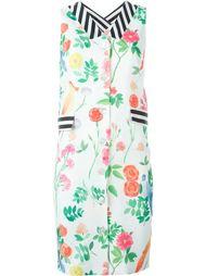 платье-рубашка с цветочным принтом   Arthur Arbesser