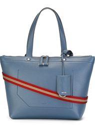 сумка-тоут с контрастной лямкой через плечо Bally