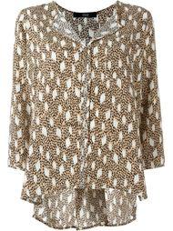 блузка с принтом  Steffen Schraut