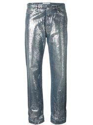 джинсы с отблеском  Golden Goose Deluxe Brand