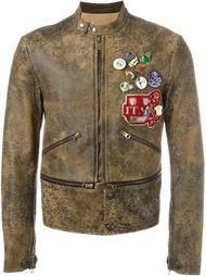 декорированная  куртка  Golden Goose Deluxe Brand