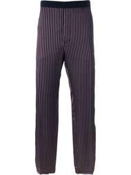 свободные брюки в полоску  Golden Goose Deluxe Brand