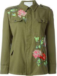 куртка в стиле милитари с вышивкой  Giada Benincasa