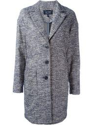тканое пальто Armani Jeans
